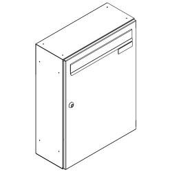 Skrzynka lokatorska panelowa 300x330