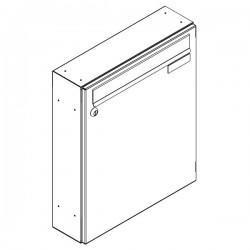 Skrzynka lokatorska panelowa 370x330