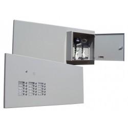Panel drzwiowy z domofonem