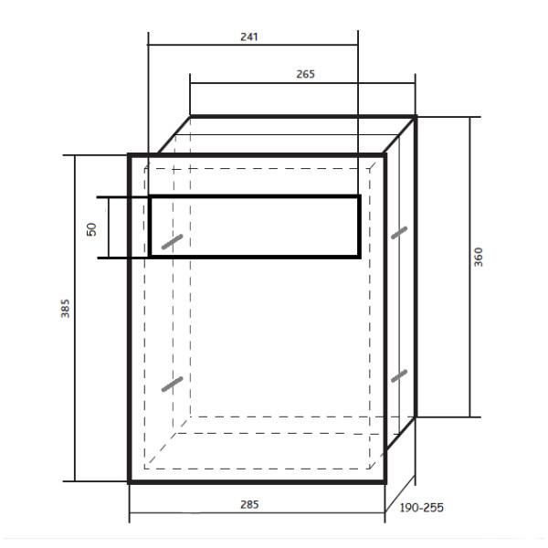 wymiary skrzynki WPN20-MR2