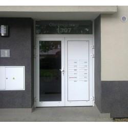 Skrzynki lokatorskie drzwiowe